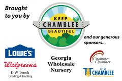 Chamblee Sponsor Sign