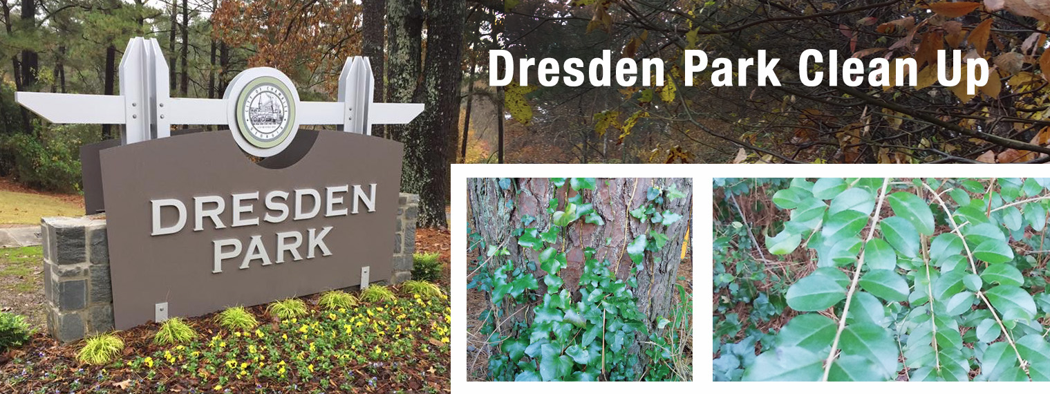 Dresden Park – Clean up: Volunteer! – Keep Chamblee Beautiful